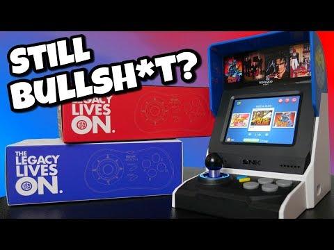 Neo Geo Mini International Review: Still Bullsh*t?