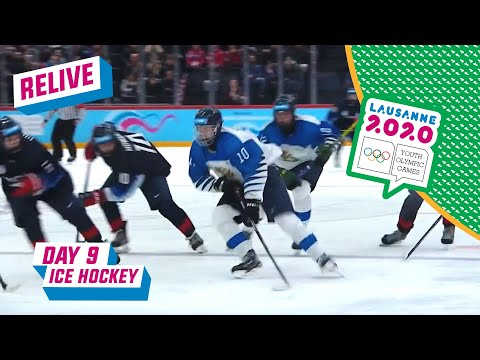 RELIVE - Ice Hockey - USA VS FINLAND - Day 9 | Lausanne 2020