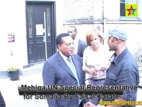 Mahiga UN Special Representative For Somalia oo Yiri Somalidu Waa Mid Wayna Is cawisaa