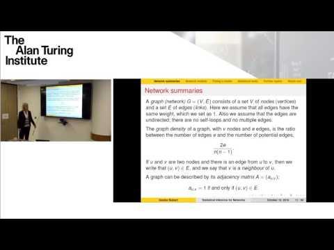 Doctoral Masterclass Programme: Professor Gesine Reinert, Oxford University