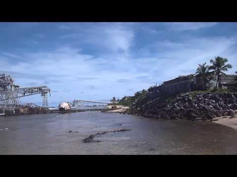 Nauru - Old Phosphate Cranes