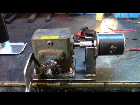 Part 1: Electric Utility Hoist/Engine Hoist (Gearbox Build)