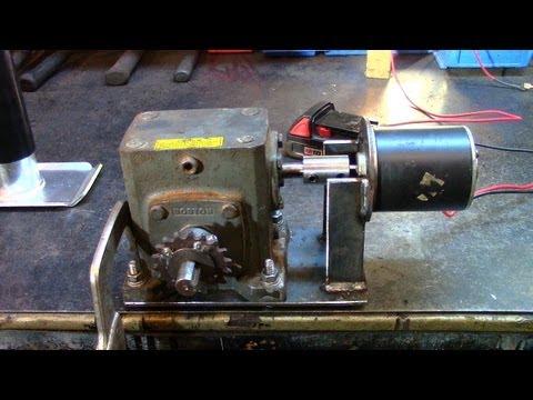 Part 1: Electric Utility Hoist/Engine Hoist (Gearbox Build)