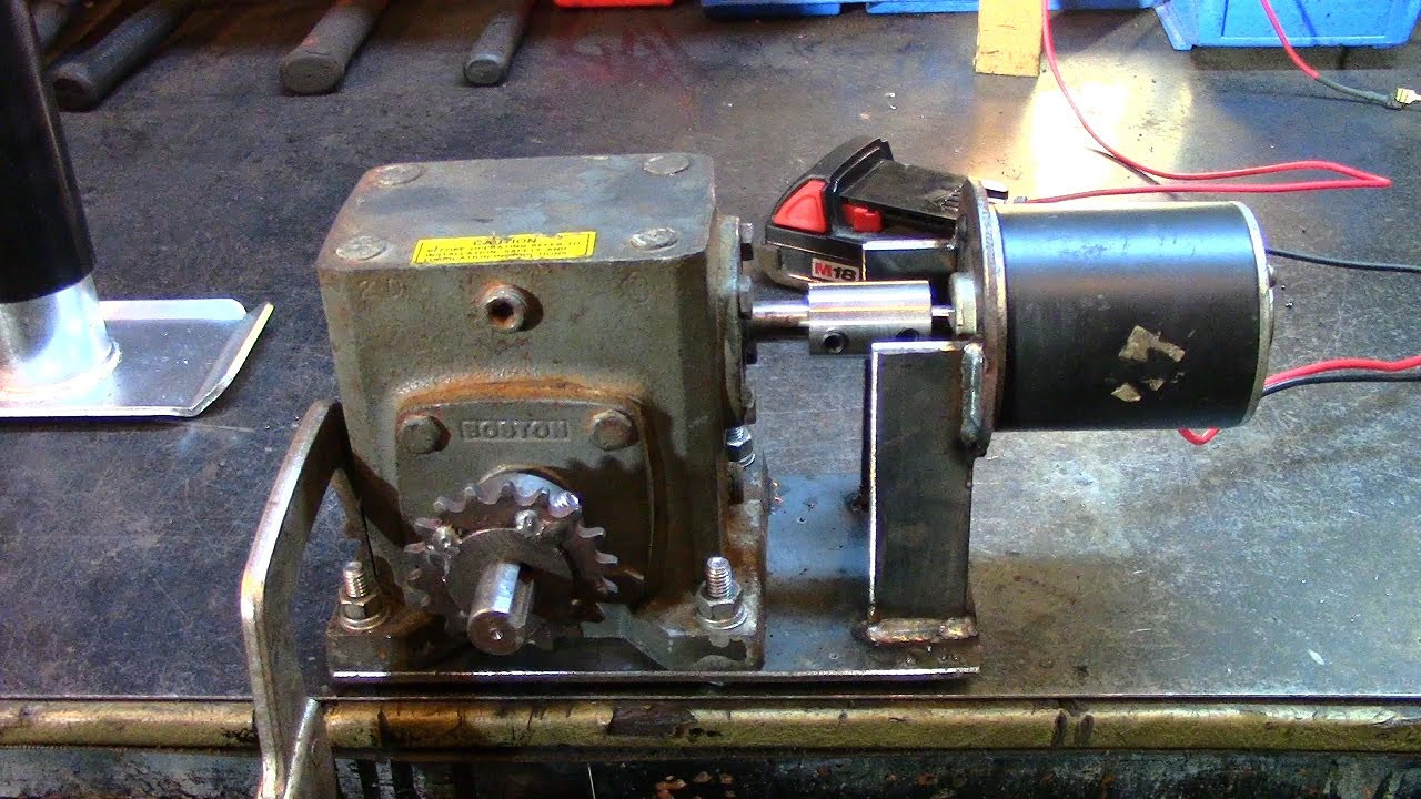 Part 1 Electric Utility Hoist Engine Hoist Gearbox Build