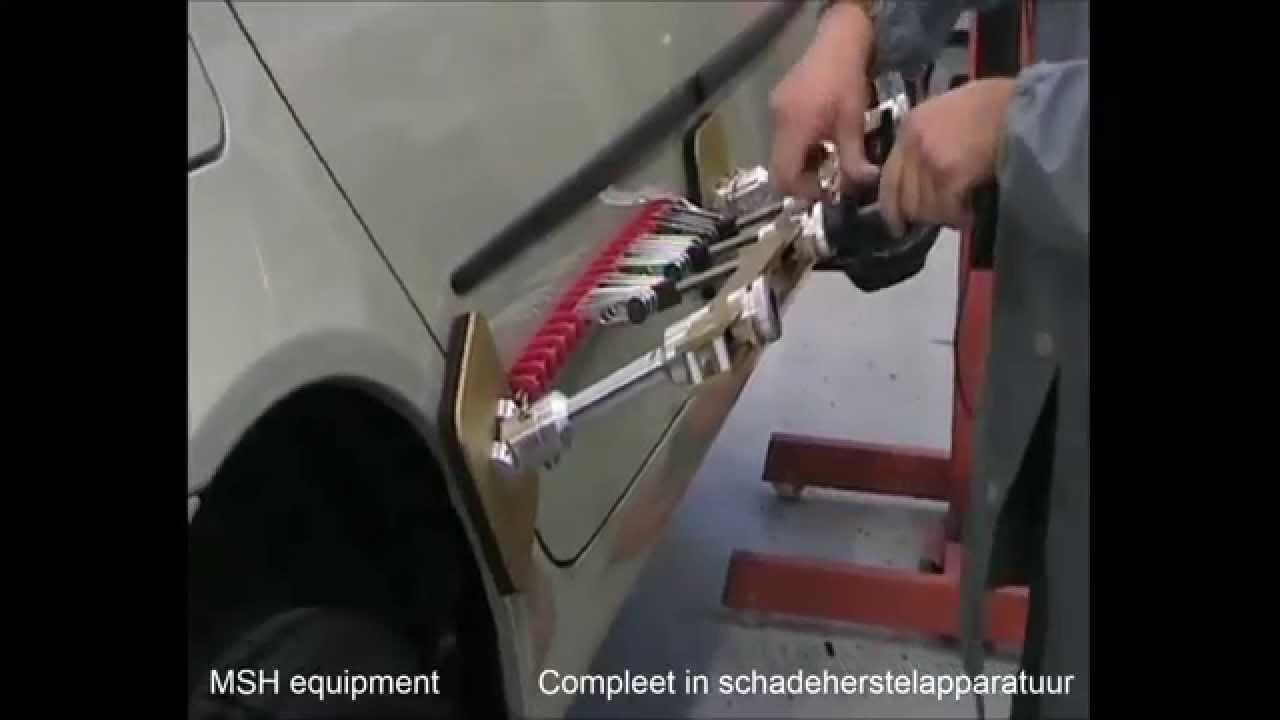 Wonderlijk Uitdeuken zonder spuiten lijmset - YouTube PL-65