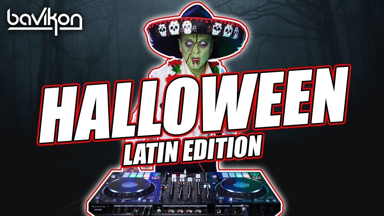 Halloween Mix 2021  Halloween Latin Party Mix 2021  Reggaeton Guaracha u0026 Latin EDM by bavikon