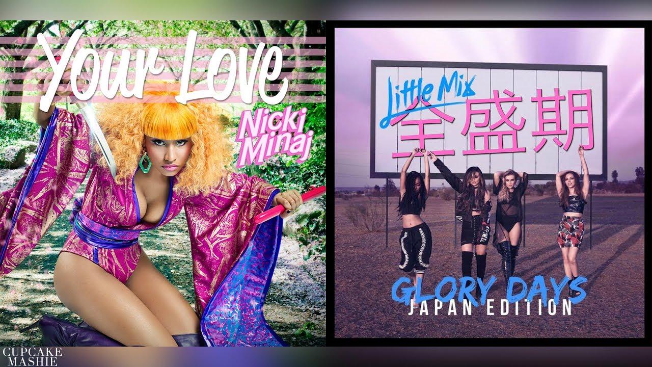 Flex Up Major Lazer Ft Fifth Harmony Nicki Minaj Mashup Youtube