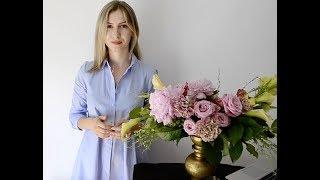 15 СОВЕТОВ начинающим флористам при работе с букетом