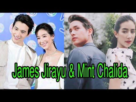 Love James Jirayu & Taew Natapohn best friends love watching their lakorns together.❤❤❤ from YouTube · Duration:  52 seconds