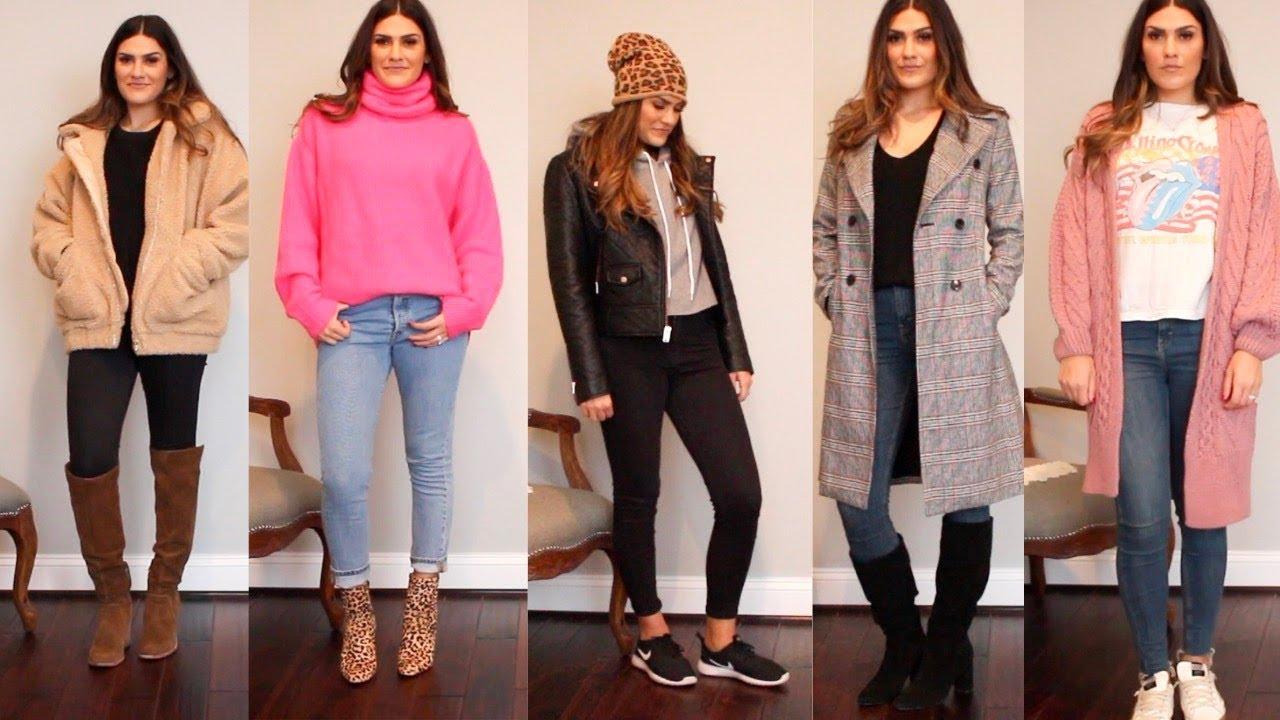[VIDEO] - 5 Winter Outfit Ideas | Jenna Berman 1