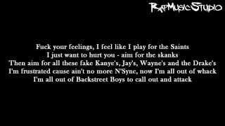 Repeat youtube video Eminem - Evil Twin | Lyrics on screen | Full HD