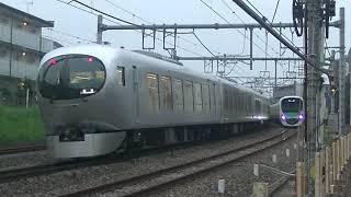 西武鉄道001系と38118F 回送同士のすれ違い 所沢~秋津