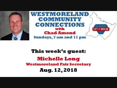 Westmoreland Community Connections: Aug. 12, 2018