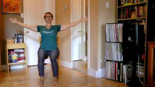Chair Yoga for Shoulders and Hips