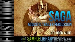 First Look: SAGA Acoustic Trailer Percussion by Red Room Audio