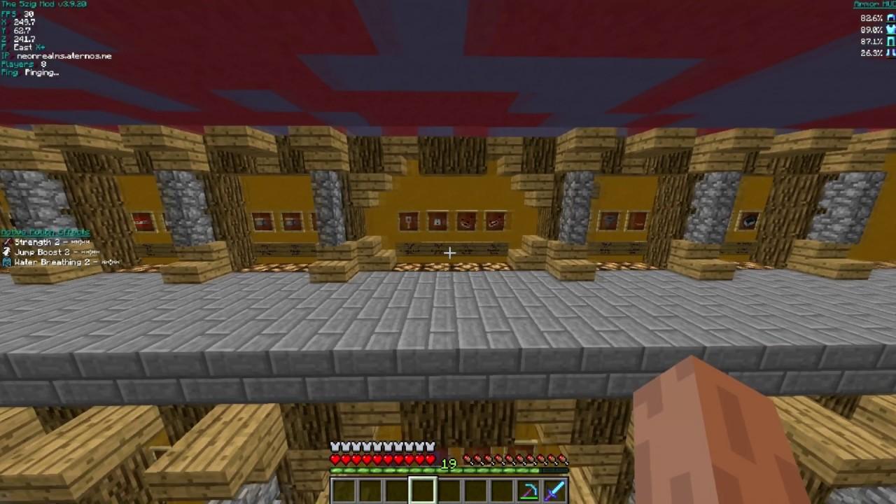 NeonRealms 1 8 Cracked New Minecraft Server [Skyblock,Faction]