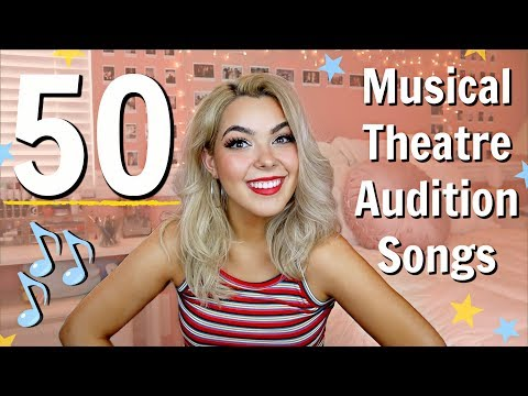 Musical Theatre Audition Songs For Sopranos   Katherine Steele   50 Audition Song Ideas For Girls!
