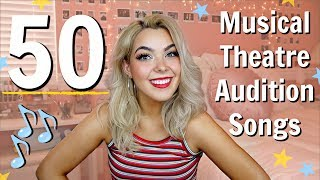 Musical Theatre Audition Songs for Sopranos | Katherine Steele | 50 Audition Song Ideas for Girls!