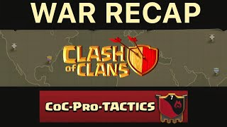 War Recap # 1 CoC-Pro-TACTICS vs ATO Teil 2 RH10 | RH11 || CLASH OF CLANS [Deutsch/German]