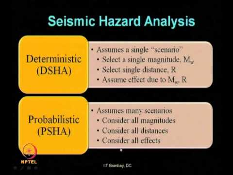 Mod-07 Lec-25 -Seismic Hazard Analysis (continued) part –III