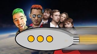 ALL THE WAY TO SPACE | send Markiplier to space | feat. Jacksepticeye, Markiplier, Schmoyoho