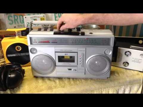 Montgomery Ward Radio/8-Track/Cassette Play/Record #GEN 3995B 11/19/15