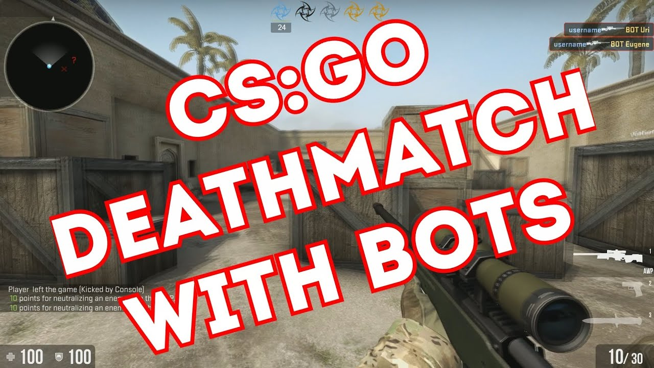 how to delete bots in csgo