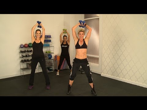 Jackie Warner's 10-Minute Full Body Workout - YouTube