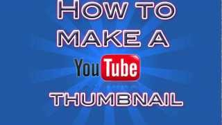 How to make an EPIC thumbnail FAST with Photoshop CS5/6