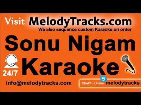 Jisne mere sapne   Karaoke   Sonu Nigam   Bollywood Karaoke Mp3