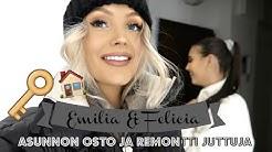 UUDEN ASUNNON REMONTIN SUUNNITTELUA 🏠 🔨 || Emilia & Felicia