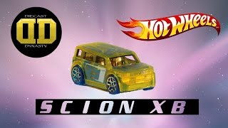Hot Wheels Scion xB unboxing, review, and test drive