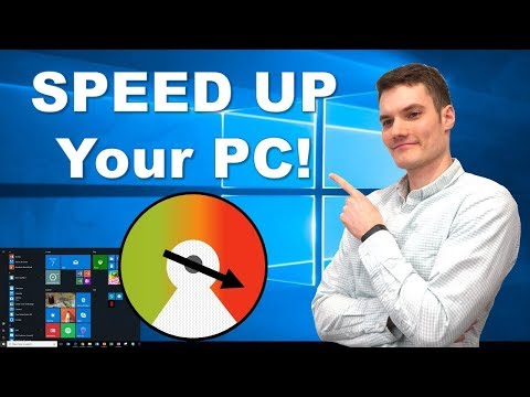 How To Speed Up Your Windows 10 Computer