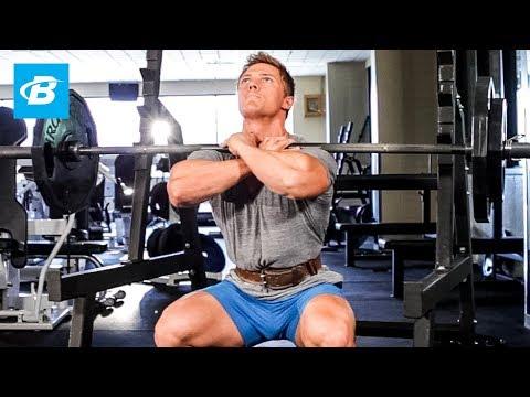 Steve Cook Leg Workout | Big Man on Campus