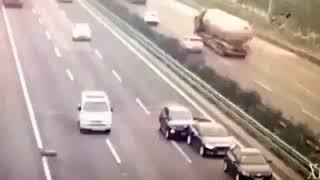 Moutons sur autoroute dange extrêmes