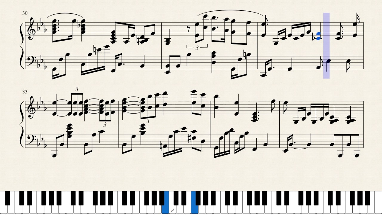 The Christmas Song Solo Jazz Piano Arrangement -Musescore's Best ...