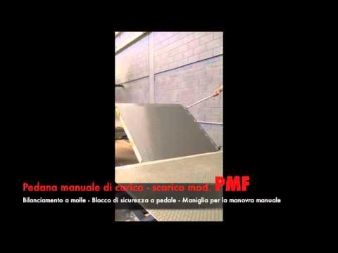 Pedana di carico mod.PMF - YouTube