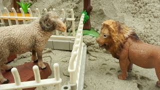 Learn Animals Names for Kids and Wild Animals At The Zoo - Toys for Children