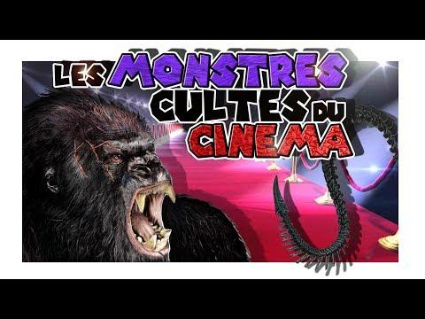 Les MONSTRES CULTES du CINEMA