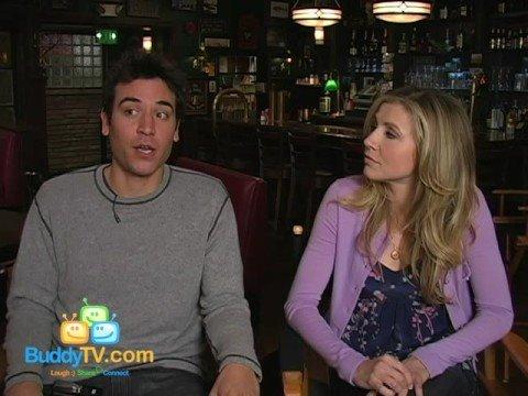 BuddyTV  with Josh Radnor and Sarah Chalke HIMYM