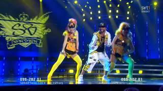 Sean Banan - Sean den förste Banan @ Melodifestivalen 2012, Eurovision 2012