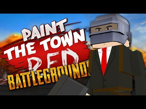 PAINT THE TOWN BATTLEGROUNDS  Best User Made Levels  Paint the Town Red