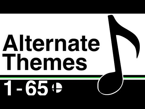 Super Smash Bros: Ultimate - Alternate Character Themes