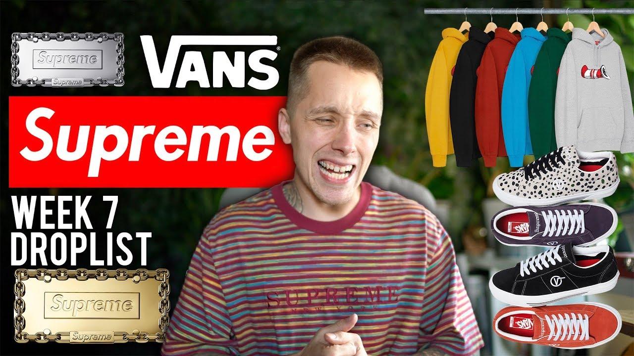 20d9205dc47 THE WORST SUPREME x VANS COLLABORATION  - YouTube