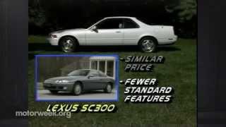 MotorWeek | Retro Review: '93 Acura Legend Coupe
