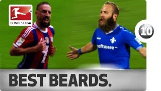Sailer, Ribery & Co - Top 10 Beards in Bundesliga History