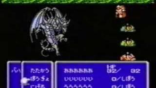 ファイナルファンタジー3 レベル1で不死身の初回バハムートを一撃各種バグ技使用 thumbnail