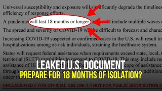 Prepare For 18 Months Or Longer"
