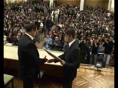 """GAGIK TSARUKYAN WAS AWARDED WITH """"HONORARY MEMBER OF ARMENIAN STUDENT FORUM""""  TITLE"""