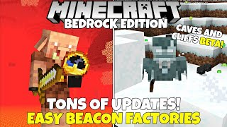 New 1.17 Beta! Easy Beacon Factories, Stronghold Changes, & Tons More! Minecraft Caves And Cliffs
